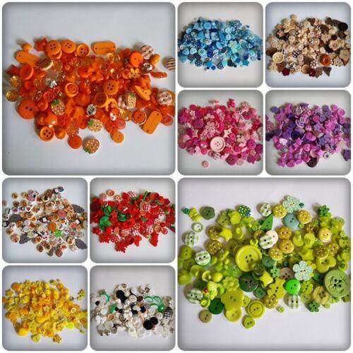 50 g bouton Mix-mixtes tailles//formes//Matériel divers couleurs disponibles
