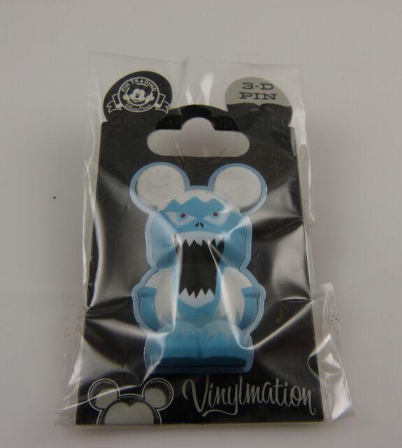 Disneyland 3d pin vinylmation trading pin Disney Matterhorn Abominable Snowman