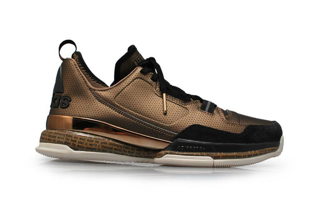 Mens Adidas D Lillard 1 BHM RARE - D68944 - Brown  Trainers
