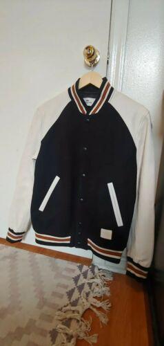 Coach Mens Varsity Leather Jacket Size medium