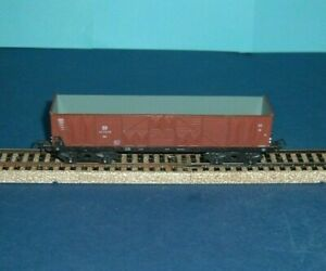 Piko-HO-Open-Long-8-Wheel-Ballast-Coal-Wagon-of-the-DR-T252