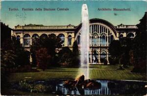 CPA-Torino-Facciata-della-Stazione-Centrale-ITALY-542743