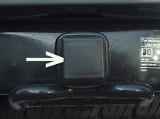 Car Wash Proof Guaranteed 1 1/4 Inch Black Trailer Hitch Receiver Cover Cap Plug