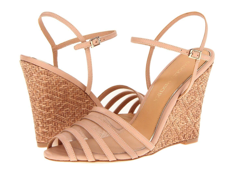 Nuevo En En En Caja Badgley Mischka Colina Panamá Sandalias De Cuña Zapatos vachetta natural 10  Entrega rápida y envío gratis en todos los pedidos.