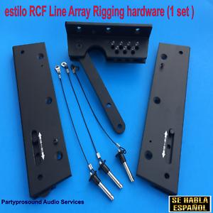 line array herrajes para bocinas aereas rigging hardware