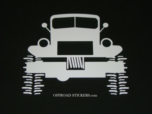 Dodge Power Wagon/_ Lifted project Crawler/_ Sticker//Decal 18