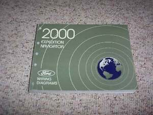 2000 Ford Expedition Electrical Wiring Diagram Manual XLT ...