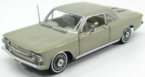 SUN-STAR 1/18 CHEVROLET | CORVAIR COUPE 1963 | AUTUMN GOLD MET