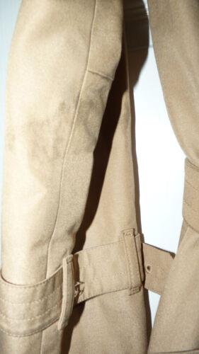 con acrilica Aquascutum beige taglia 10 Aqua5 fodera coat Trench vintage wqgHpBgA