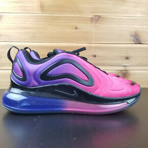 Details about Nike Women's Air Max 720 Sunset Pink Hyper Purple Blue Black AR9293 500