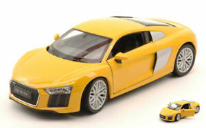 Model Car Scale 1/24 Welly Audi R8 V10 diecast vehicles collection Coche