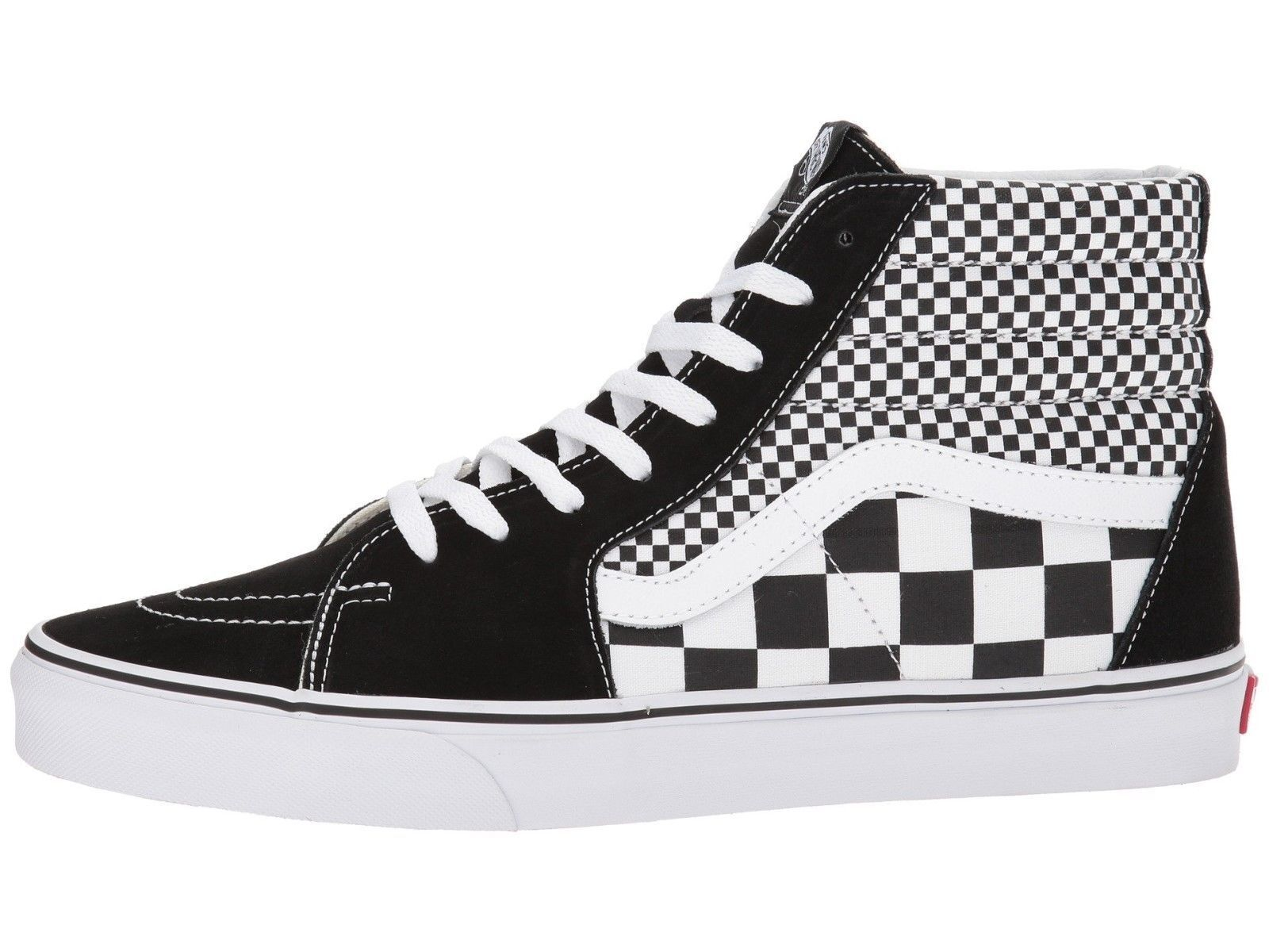 Vans Mix Checker Black   White Checkered Sk8 Sk8 Sk8 Hi Mens shoes a09976