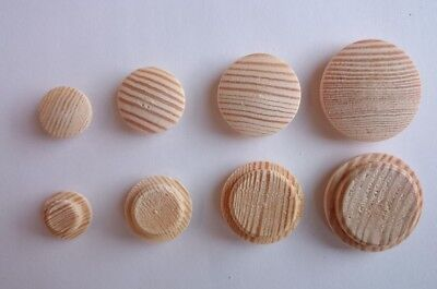 BEECH SOLID WOOD PLUGS FOR COVERING SCREWS 10 MM /& 12MM AVAILABLE CHOICE QTY