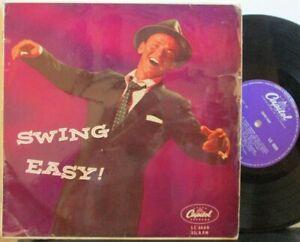 FRANK-SINATRA-Swing-Easy-10-034-VINYL-LP