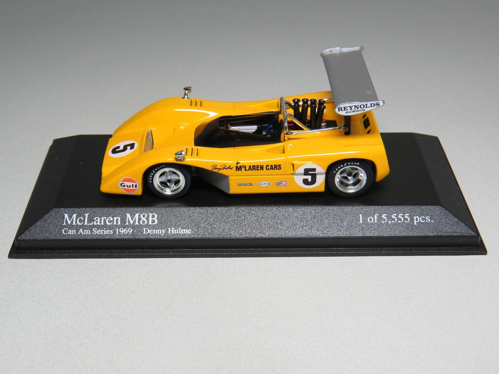McLaren M8B Can Am Series 1969 D. Hulme Minichamps Nr. 530694305