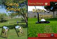 (signed) Swing Simple Full Swing & Short Game Golf Instruction Dvd Video
