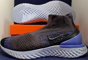 Nike-Rise-React-Flyknit-Thunder-Grey-Sapphire-Blue-SZ-9-AV5554-055