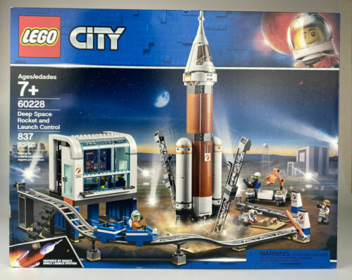 LEGO City Space Deep Space Rocket /& Launch Control 60228 Astronaut New SEALED