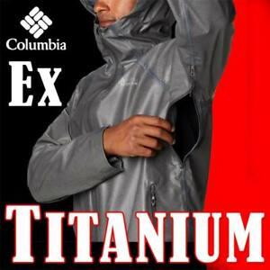 "MEN'S OUTDRY EX TITANIUM ""REIGN"" JACKET WATERPROOF TRAIL EXTREME ARM VENTING 2XL"