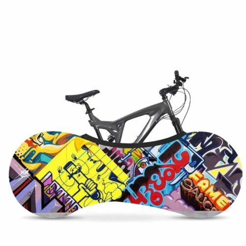 Bike Anti-dust Cover Bicycle Wheel Chain Elastic Protect Covers Storage Bags C02