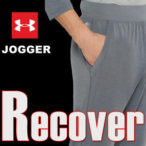 UNDER ARMOUR UA RECOVER ULTRA COMFORT ATHLETE RECOVERY SLEEPWEAR JOGGERS 2X 3X