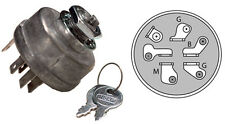 IGNITION / STARTER KEY SWITCH for John Deere AM38227 Lawn Mower Tractor