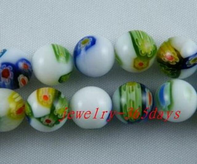 Glass Round Spacer Beads 6mm,8mm,10mm P90-P92