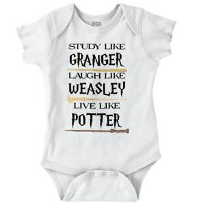 Study-Laugh-Live-Like-Wizard-Heroes-Nerdy-Newborn-Romper-Bodysuit-For-Babies