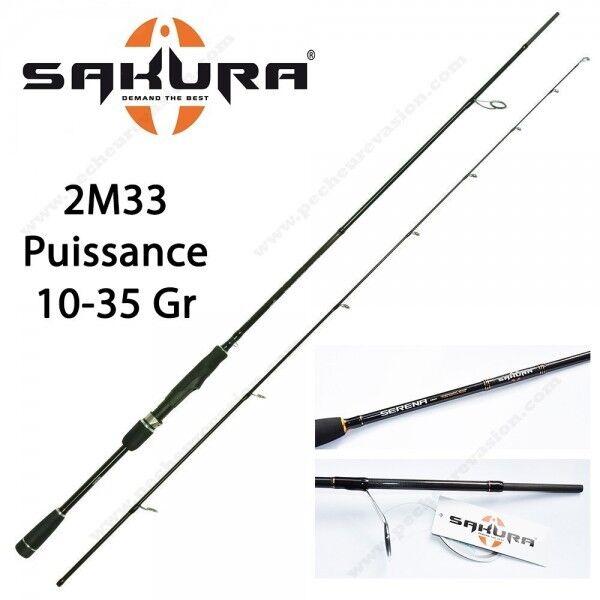 Canne Leurre Sakura Serena Spinning SES 782 MH (2M33 10-35gr)