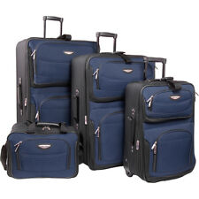 Traveler's Choice Amsterdam 4-Piece Luggage Set 4 Colors