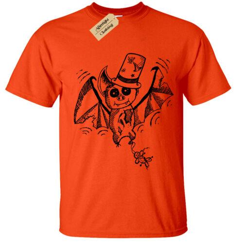 Enfants Garçons Filles Zombie Chauve-souris T-Shirt Halloween enfant Vampire Spooky Gothique