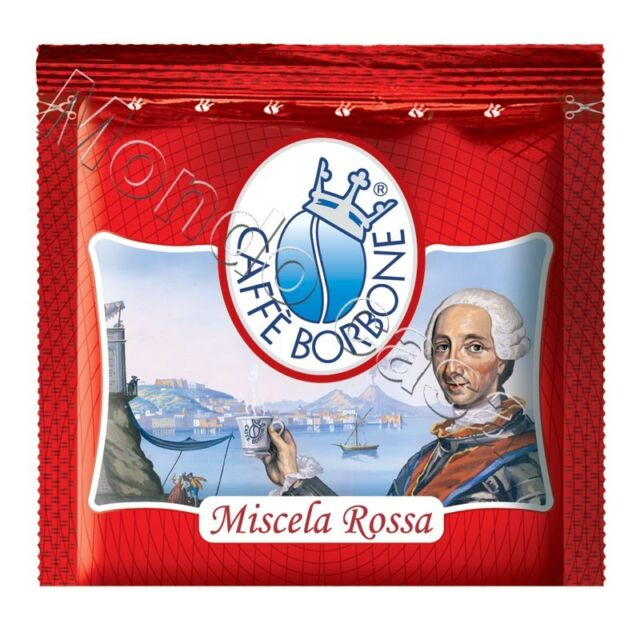 Borbone 50 Cialde Filtro Carta 44MM Caffè' Miscela Rossa Originali