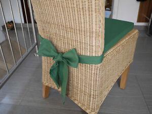 stuhlkissen 40 x 40 x 4 cm sitzkissen gr n mit schleife ebay. Black Bedroom Furniture Sets. Home Design Ideas