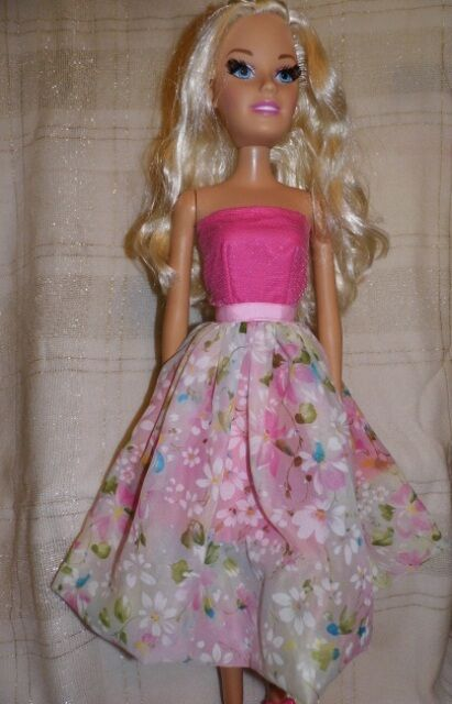 """NG Creations Sewing Pattern #3  fits 28/"""" Best Fashion Friend Barbie Doll"""