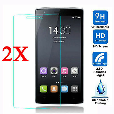 2x Premium Thin Tempered Glass Screen Protector Film For OnePlus 1 2 3 3T 5 6 6T