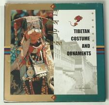 BOOK Tibetan Costume & Jewelry folk ornament ethnic dress monk robe priest coral