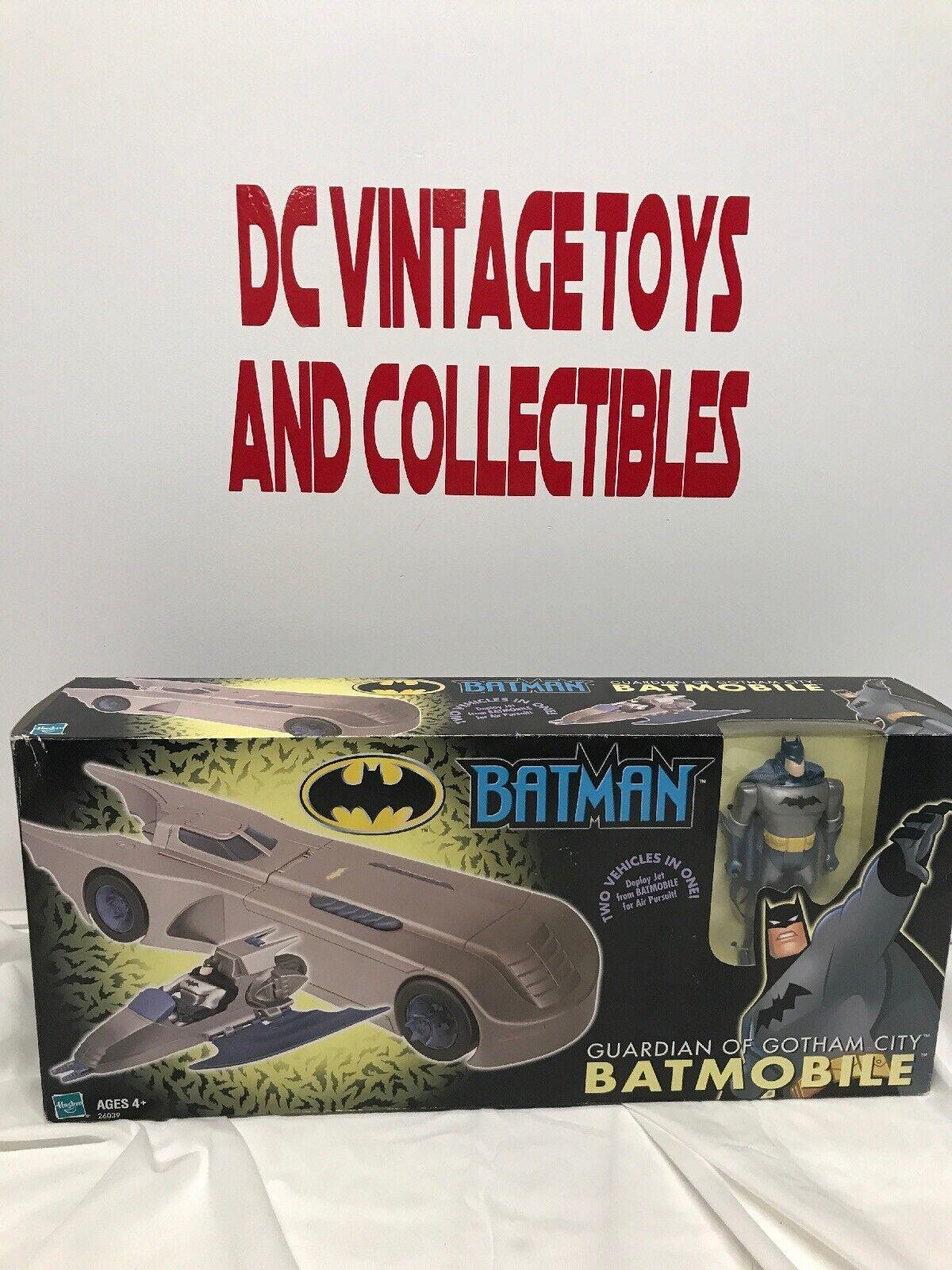 Vintage Hasbro 2002 guardián de Gotham City Batimóvil — Sellado —