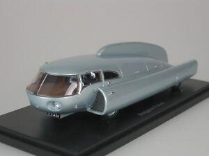 BERGGREN-FUTURE-CONCEPT-CAMPER-SWEDEN-1951-SILBER-1-43-AUTOCULT-09009-NEU-1-333