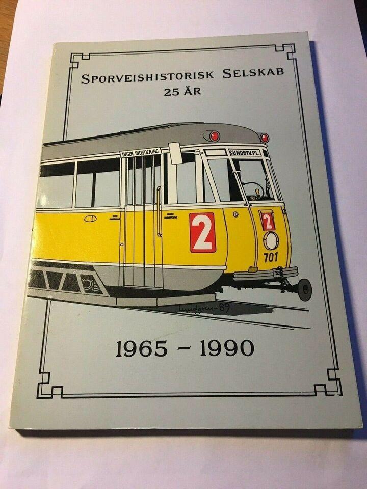 Bøger og blade, Sporveishistorisk selskab 25 år