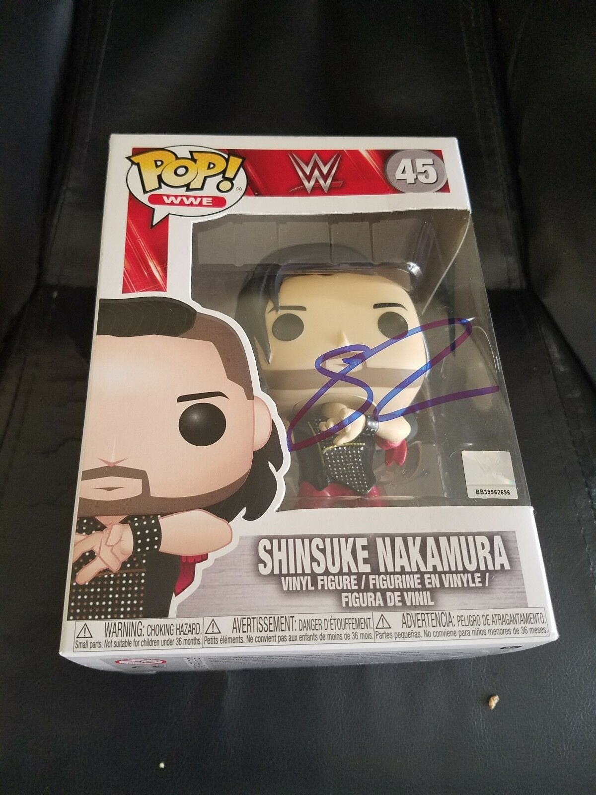 Wwe Shinsuke Nakamura autógrafo  Funko Pop