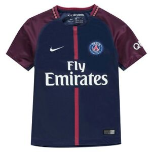 36bbd9de71 La imagen se está cargando Nike-Paris-Saint-Germain-PSG-Camiseta-Local-2017-