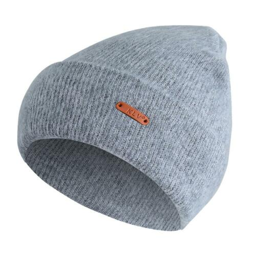 Men Women Unisex Beanie Cashmere Cuffed Knit Hat Outdoor Winter Warm Ski Cap New