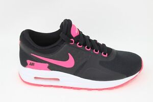 Nike-Air-Max-Zero-Essential-GS-881229-004-Black-Racer-Pink-White-Brand-New