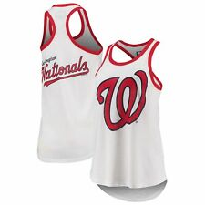 Washington Nationals G-III 4Her by Carl Banks Women's Tater Racerback Tank Top -