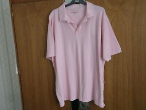 2xl T Sleeve In shirt Top Polo New Pink Mens Size Plus Short dXqg0xvg