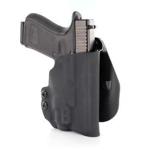 Details about OWB KYDEX PADDLE HOLSTER for guns with Streamlight TLR-6 -  MATTE BLACK