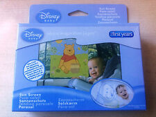 New Pack of 2 Disney Baby Winnie the Pooh Sunscreen Sun Shade -Press on Peel Off