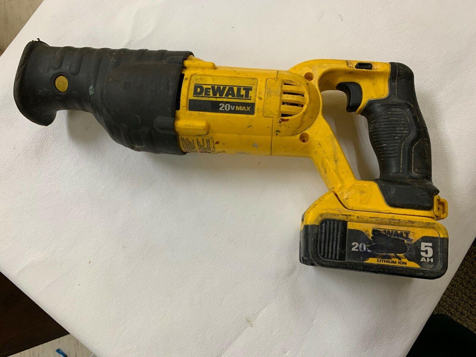 Bare Tool DEWALT 20V MAX Li-Ion Reciprocating Saw DCS380B Recon