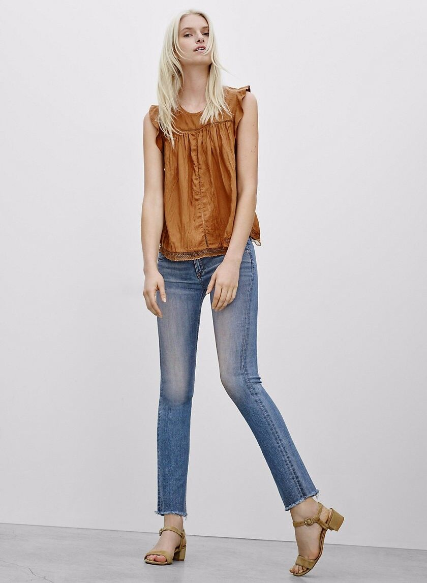 Rag & bone Jean Straight Leg Elign size 25