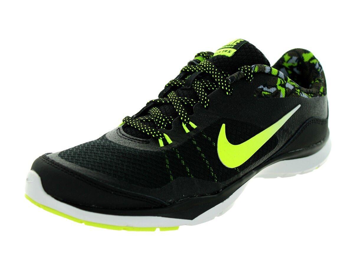 Nike Mujer's Flex Flex Flex Trainer 5 Impresión Zapatillas Zapatos Negro 4fa18c